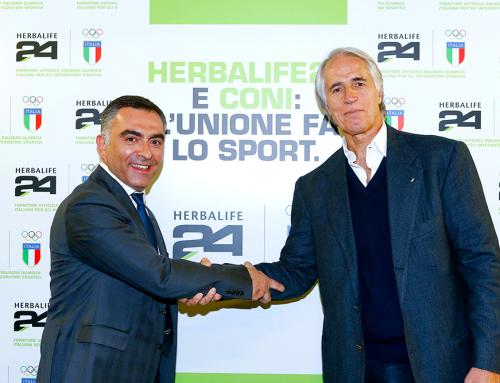 Herbalife 24 Fornitore Ufficiale della Squadra Olimpica e Partner CONI