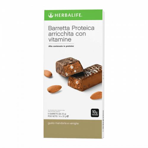 Herbalife Soluzioni Proteiche Barretta Proteica Snack Gusto Vaniglia e Mandorla