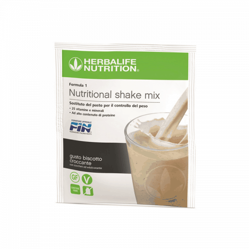 Prodotti per Perdere Peso Herbalife - Formula1 Controllo del Peso Gusto Biscotto Croccante