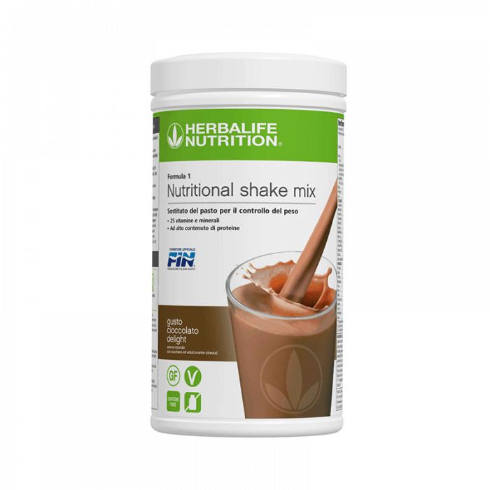 Prodotti per Perdere Peso Herbalife - Formula1 Controllo del Peso Gusto Cioccolato Delight