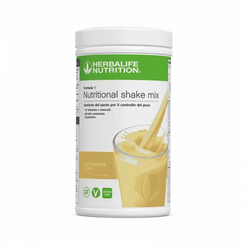 Prodotti per Perdere Peso Herbalife - Formula1 Perdita del Peso Gusto Banana Cream