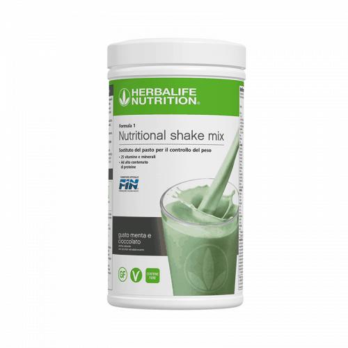Prodotti per Perdere Peso Herbalife - Formula1 Sostituto del Pasto Gusto Menta e Cioccolato