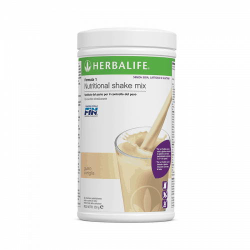 Prodotti per Perdere Peso Herbalife - Formula1 Sostituto del Pasto Gusto Vaniglia Free