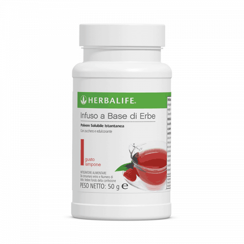 Herbalife Infuso a Base di Erbe Gusto Lampone 50g
