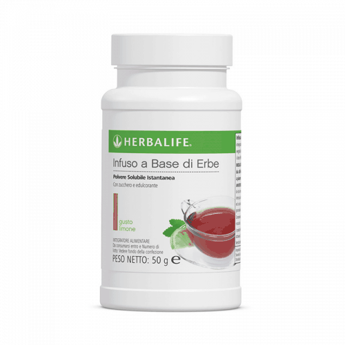 Herbalife Infuso a Base di Erbe Gusto Limone 50g