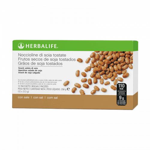Herbalife Soluzione Snack Proteico - Noccioline di Soia Tostate