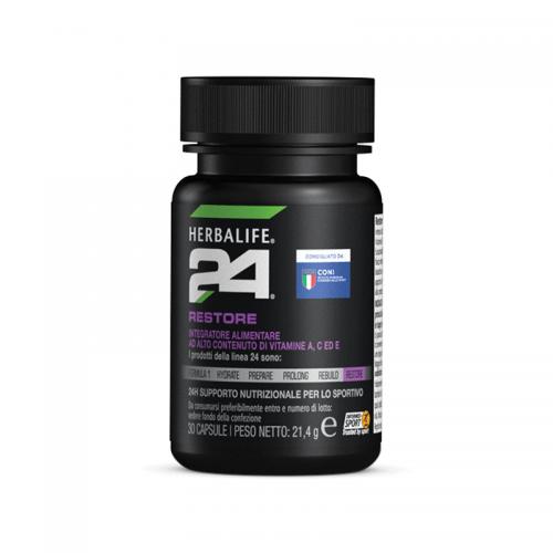 Integratori Alimentari Sportivi Herbalife H24 - Restore - Integratore Sportivo per il Recupero e Vitamine